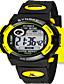 Pánské Módní hodinky Digitální hodinky Digitální Silikon Kapela Černá