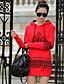 Damen Kapuzenshirt Ausgehen Solide Buchstabe Dehnbar Polyester Lange Ärmel Frühling Herbst