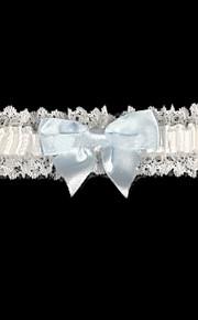 satijn met bowknot bruiloft kousenbanden