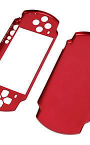 aluminium tilfældet for PSP slim/2000 (rød)