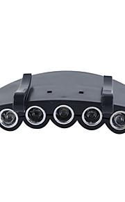 LED Lommelygter / Hovedlygter LED 4.0 Modus Lumens Andre CR2032 Andre , Sort Plastikk