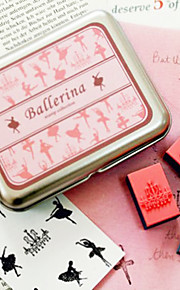 ballerinaer DIY Craft stempel sett