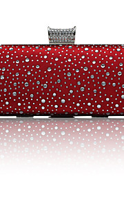 Gorgeous Satin With Austria Rhinestones/ Beadings Evening Handbags/ Clutches More Colors Available