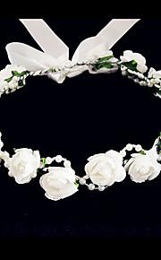 Femme / Jeune bouquetière Mousse Casque-Mariage / Occasion spéciale / Décontracté Fleurs