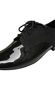 Customized Performance Dance Shoes Leatherette Upper Modern Shoes for Men