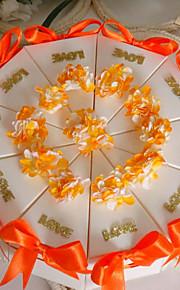 Orange Cake Favor Box (Set of 10)