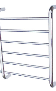 60W Stainless Steel Wall Mount Circular Tube Towel Drying Rack