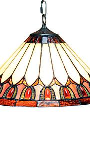 GLOVERSVILLE - Lüster Tiffany mit 2 Glühbirnen
