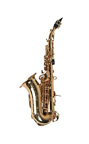 Hanbang - (HB-8051) Soprano Saxophone with Rolled Tone Holes (Up To High F#)