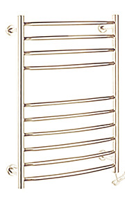 Contemporary Stainless Steel Mirror Polished Towel Warmer 90w