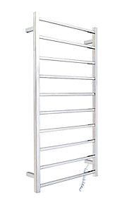 Contemporary Stainless Steel Mirror Polished Long Towel Warmer 120w