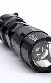 Lanterna 1LED com Fita de Pulso (1xAA, 3W)