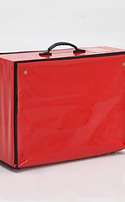 Elegant Faux Leather Garment Bag (More Colors)
