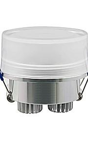 3 W 3 High Power LED 270 LM Warm White Recessed Retrofit Ceiling Lights AC 100-240 V
