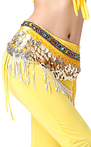 Performance Dancewear 408 Coins Velvet with Crystals Belly Dance For Ladies More Colors