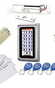 Metal Vandtæt Access Controller Kits (Electric Bolt, 10 EM-ID-kort, Power Supply)