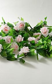 décoration de mariage 2m (6,5 pi) belle lumière rose décoration vigne