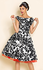 TS VINTAGE Swing- Kleid mit Petticoat