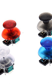 Replacement 3D Vibrerende Rocker Joystick Cap Shell Mushroom Caps voor PS3 draadloze controller (Groen Chip)