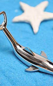 Dolphin Shaped inoxydable ouvre-bouteille en acier