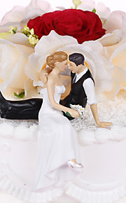 Cake Topper Non-personalized Classic Couple Resin Wedding / Bridal Shower Classic Theme PVC Bag