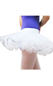 Ballroom Dancewear Tulle With Sequins Ballet Dance Skirt For Ladies