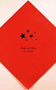 Boda Personalizados Servilletas Estrellas (más colores) Juego de 100