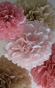 結婚式の装飾14インチの紙の花 - 4(もっと色)のセット