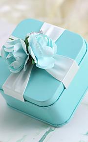 12 Pièce / Set Titulaire de Faveur-Cubique Boîtes à cadeaux Cannette de cadeau Non personnalisé