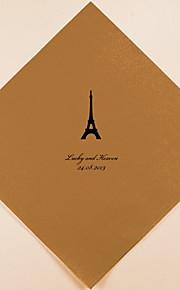 Personalizada boda Servilletas Paris (más colores) Juego de 100