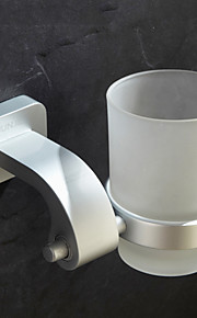 Contemporary Durable Anodizing Finish Toothbrush Holder