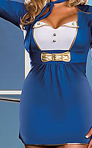 Half Sleeve Blue Dress Uniform Naval (2 szt.)