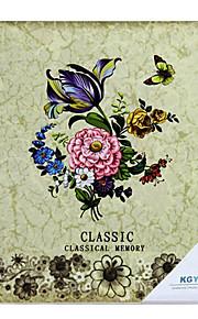 """Estilo Floral Bege Clássico Verniz 10 """"* 12"""" Photo Album (20 Bolso 40 Lados)"""