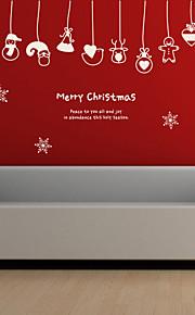 Holiday Joulua Kunniamerkit Wall Tarrat