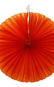 Wedding Décor Round Paper Fan Design Tissue for  Decoration - Set of 6 (More Colors)