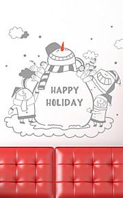 Holiday Hyvää joulua Holiday Wall Tarrat