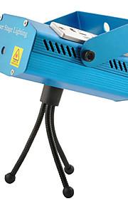 Multifunción verde / rojo de aleación de aluminio Shell lámpara de la etapa del laser con reproductor de MP3 y la función Remote