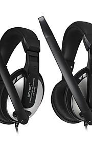 DANYIN DT-2699 Stereo Over-ear-hoofdtelefoon met microfoon en afstandsbediening voor PC / iPhone / iPad / Samsung / iPod
