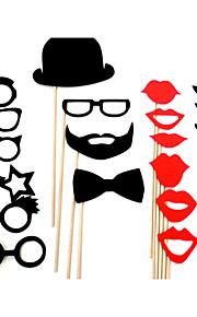 bruiloft decor grappig masker baard partij fotografie foto booth props (22 stuks)
