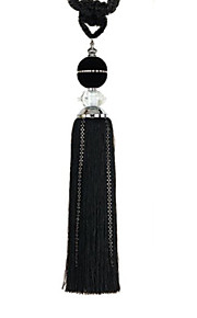 Classic Black Tassel (One Pair)