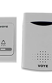 VOYE V006B Home Security Modtaget 30-50m Intelligent trådløse dørklokke