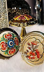 Retro Oriental kukka kuvio pyöreä ikkuna holdbacks (yksi pari)