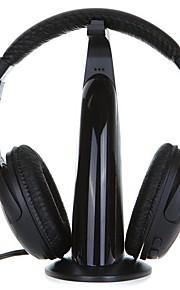hovedtelefon 3,5 mm i løbet øre med mikrofon til computer