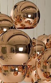 Подвесные лампы из металлического стекла
