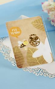 Golden Bee Bookmark