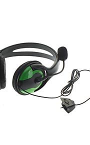 Premium udgave mikrofon hovedtelefoner Sæt til Xbox 360 (grøn)
