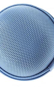 bærbar vandtæt støvtæt eva tilfælde holder til hovedtelefoner (assorteret farve)
