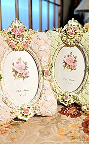 """6"""" 7"""" Modern European Style Pearl Polyresin Picture Frame"""