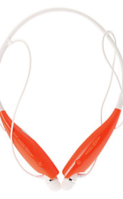 HBS700 Bluetooth Headset med Fleksibel Neck Strap for Cell Phone (Red)