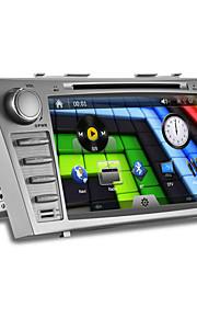 8inch 2 din in-dash auto dvd-speler voor Toyota Camry 2007-2011 met wifi, 3g, gps, bt, ipod, rds, touch screen